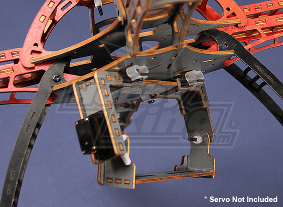 Quadcopter Frame Camera Mount