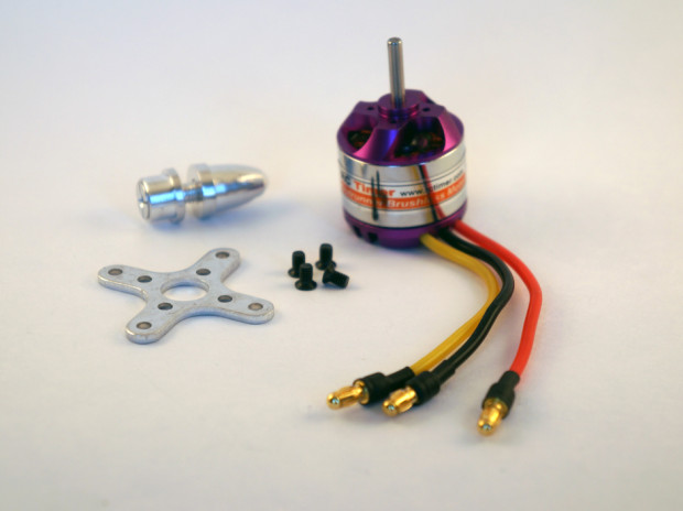 RCTimer 2830-11 Brushless Outrunner Purple Motor 1000kV