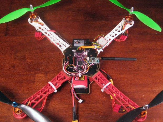 ArduFlyer Quadcopter